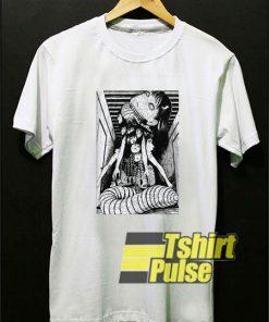 Junji Ito Graphic Anime t-shirt