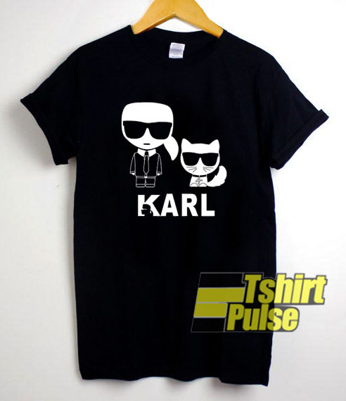 Karl Lagerfeld Graphic t-shirt for men and women tshirt