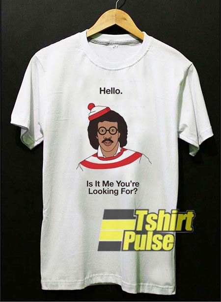 Lionel Richie Waldo t-shirt for men and women tshirt