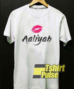 Lips Aaliyah t-shirt