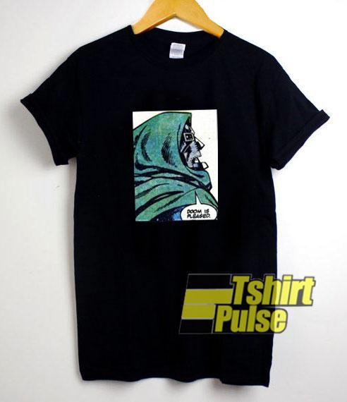 Mf Doom Is Pleased t-shirt for men and women tshirt
