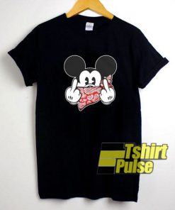 Mickey Mouse Thug Life Gangster t-shirt for men and women tshirt