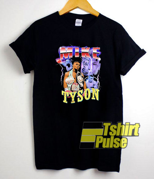 Mike Tyson Vintage 90's t-shirt for men and women tshirt
