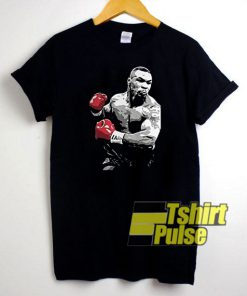 Mike Tyson Vintage Painting t-shirt for men and women tshirt