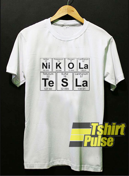 Nikola Tesla t-shirt for men and women tshirt