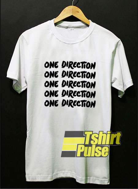One Direction Lettering t-shirt for men and women tshirt