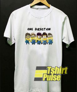 One Direction Minions t-shirt for men and women tshirt