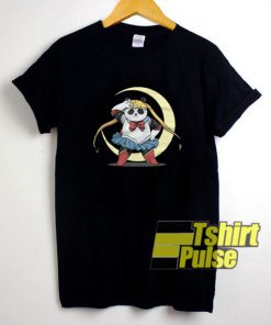 Panda Usagi Sailor Moon t-shirt for men and women tshirt