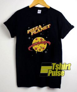 Pizza Planet at The Night t-shirt for men and women tshirt