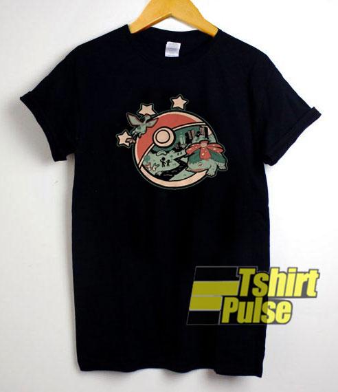 Pokemon Go Fest 2018 Art t-shirt for men and women tshirt