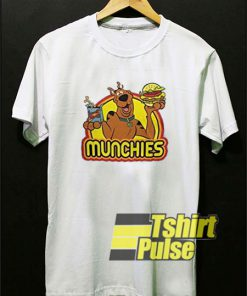 Retro Scooby Doo Munchies t-shirt for men and women tshirt