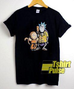 Rick Morty Cosplay t-shirt