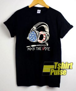 Rock The Vote Graphic t-shirt