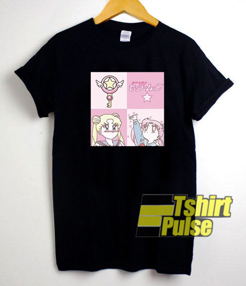 Sailor Moon Anime Japanese t-shirt for men and women tshirt