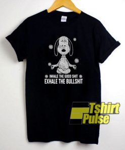 Snoopy Namaste t-shirt