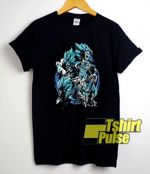Son Goku Fusion Vegeta t-shirt