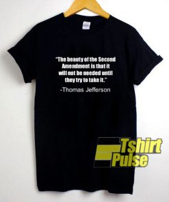 Special Thomas Jefferson t-shirt for men and women tshirt