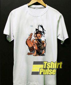 Street Fighter Ibuki Capcom t-shirt for men and women tshirt