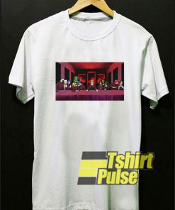 The Last Supper Naruto t-shirt