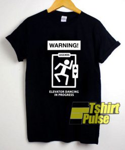The Norris Nuts Warning Elevator t-shirt for men and women tshirt