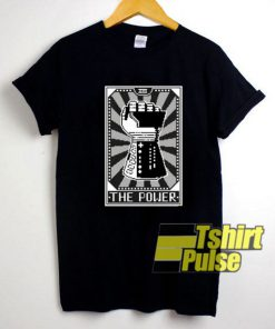 The Power Card Hand Graphic t-shirt for men and women tshirt