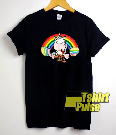 The Rainbow Unicorn t-shirt for men and women tshirt