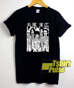 Tomie Junji Ito Horror Anime t-shirt