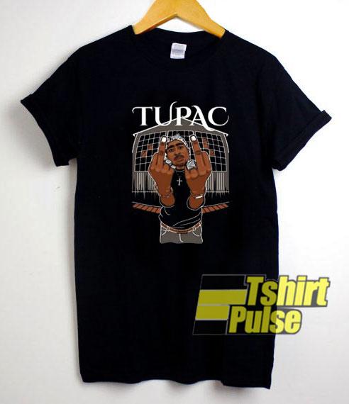 Tupac Me Against t-shirt