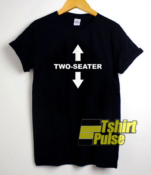 Two Seater Graphic t-shirt for men and women tshirt