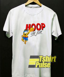 Vintage Garfield Hoop Du Jour t-shirt for men and women tshirt