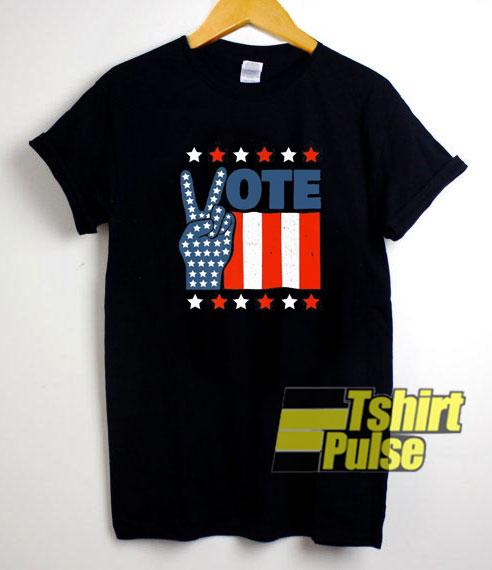 Vintage Peace Vote t-shirt