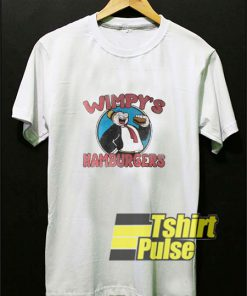 Wimpys Hamburgers Popeye Cartoon t-shirt for men and women tshirt