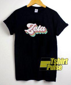 Zeta Tau Alpha t-shirt for men and women tshirt