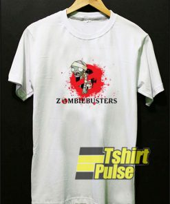 Zombie Busters Graphic t-shirt for men and women tshirt