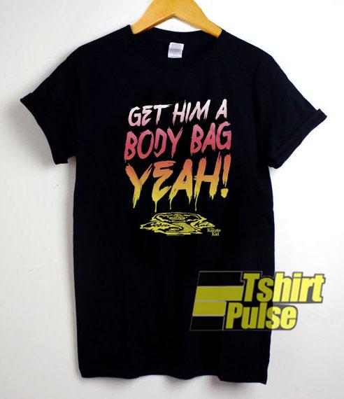 Body Bag Karate Kid shirt