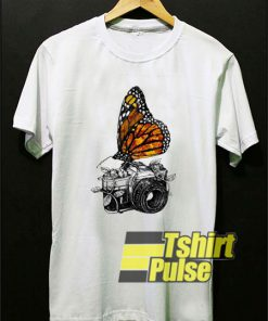 Camera And Butterfly shirt