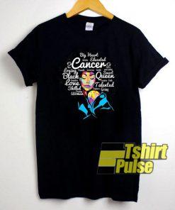 Cancer Melanin Afro shirt
