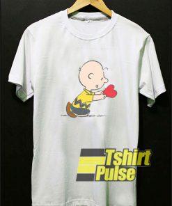 Charlie Brown Valentine shirt