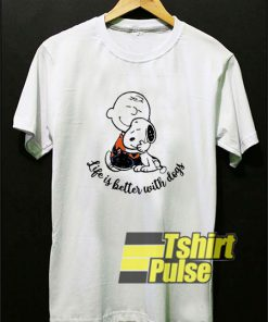 Charlie Love Snoopy shirt
