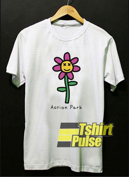 Flower Action Park shirt