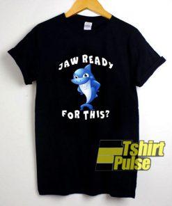 Funny Shark Jaw t-shirt