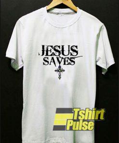 Jesus Saves Cross shirt