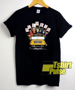 Melanin School Bus shirt