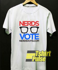 Nerds Vote Eyeglass shirt
