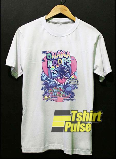 Ohana Hoops Stitch shirt