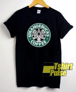Strangebucks Coffee shirt