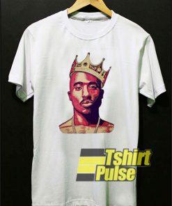 Tupac King Crown shirt