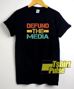 Vintage Defund The Media shirt