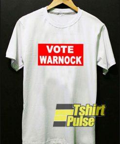 Vote Warnock Logo shirt