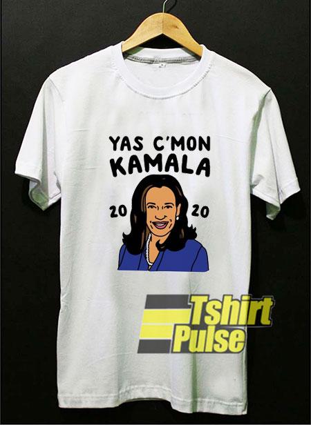 Yas Cmon Kamala 2020 shirt